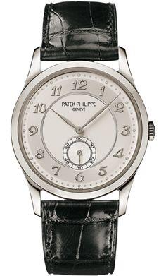 5196P-001 Patek Philippe Calatrava Mens Platinum Watch | WatchesOnNet.com