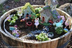 How to create a fairy garden for kids