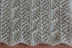 вязание спицами - Самое интересное в блогах схема 1