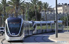 Light rail in Jerusalem   ..rh