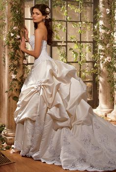 Eve of Milady wedding gowns @ Catan Fashions in Strongsville OH  The largest bridal salon in the country   www.catanfashions   Find the dress of your dreams! #CatanBride #EveofMilady