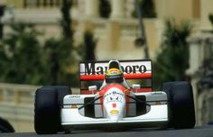 f1pictures:  Ayrton Senna McLaren - Honda Monaco 1992