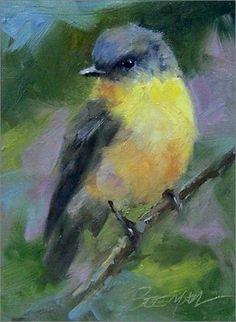 Oiseaux en peinture - Mike Beeman