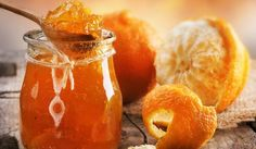 Vegan recipe for orange marmalade. Fruit Orange, Orange Jam, Orange Peel, Orange Drinks, Seville Orange Marmalade, Easy Treats To Make, Marmalade Recipe, Making Marmalade, Food Gallery