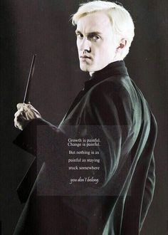 Draco Malfoy played by Tom Felton Harry Potter Quotes, Harry Potter Love, Harry Potter Universal, Harry Potter Fandom, Harry Potter World, Draco Malfoy Quotes, Tom Felton, Hogwarts, Slytherin Pride