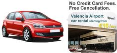 Book your vacation car at Valencia Airport and enjoy the best rental deals with discounted offers,for more information visit Valenciaairportcarrental.com