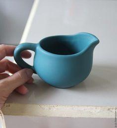 Ceramic milk jug / Графины, кувшины ручной работы. Ярмарка Мастеров - ручная работа. Купить Кувшин-молочник - керамика ручной работы. Handmade. Зеленый