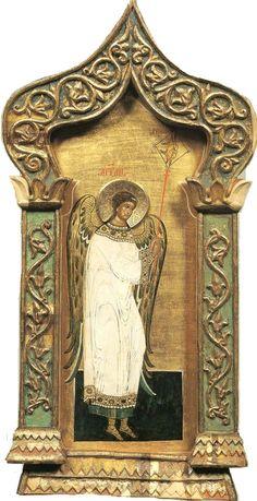 acheiropoietos:    acheiropoietos:    Angel of the LORDfrom Solovki Monastery, 13th cent.