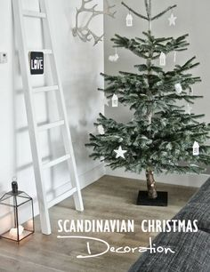 SCANDINAVIAN CHRISTMAS DECORATION | INSPO - Mes Voyages à Paris