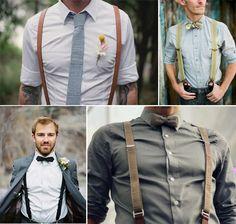 ...monica there needs to be an attractive groomsman wearing suspenders.....please for me lol . . . . . der Blog für den Gentleman - www.thegentlemanclub.de/blog