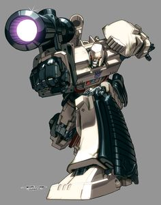 Megatron, by Udon Crew's Joe Ng (pencils) and Espen Grundetjern (colors)