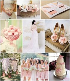 Pastel Pink and Shabby Chic! Love this wedding inspiration board. #heavensentweddings #weddinginspiration #shabbychic #pink #weddingplanning