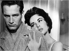 sexiest hollywood stars of all-time. hands down. paul newman and elizabeth taylor.