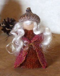 Little Woodland Sprite Gnome Waldorf Inspired by gingerlittle