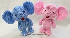 Baby Elephant Free Crochet Patterns