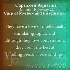 Capricorn/Aquarius Cusp