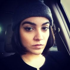 Skully && thick eyebrows