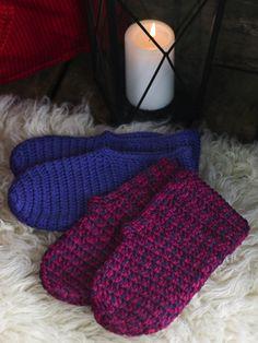 Virkatut tossut Novita 7 Veljestä tai Novita Isoveli | Novita knits