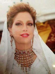 Princess of Morocco Lalla Soukaina at her wedding
