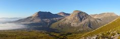 On a clear day Beinn Eighe NNR offers stunning views in every direction.