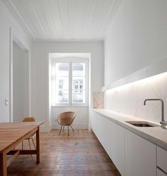 """The intervention aimed for the adaptation and refurbishment of a """"Pombalino"""" building, turning it into a short term rental unit. Located in the heart of the ..."""