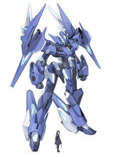 light blue mecha love