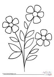 Free Printable Flower Coloring Pages For Kids - Coloring Page Ideas Hand Embroidery Projects, Floral Embroidery Patterns, Machine Embroidery Patterns, Beading Patterns, Flower Patterns, Fish Coloring Page, Preschool Coloring Pages, Coloring Pages For Kids, Printable Flower Coloring Pages
