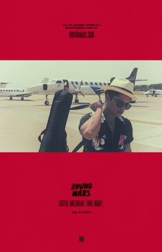 UPDATE: Bruno Mars South American Tour Diary is now live!   Click HERE to view the special gallery now.   Drop us a line & let us know what you think!