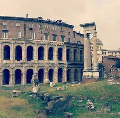 Teatro Marcello, Rome, Italy