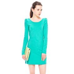 Round Collar LongSleeves SlimFit Dress http://everyFashion.storenvy.com