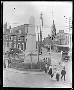 Wells & McComas Monument in Old Town - in Northpoint, citizen militiamen Wells and McComas are credited with killing English Commander Major General Ross, who intended to invade Baltimore during the War of 1812. A third citizen Aquilla Randall also receives credit, and a memorial for him stands in Dundalk.