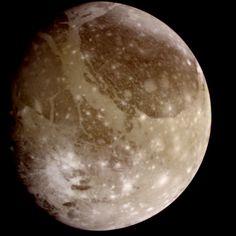 Ganymede: A Moon Like No Other #universe #nasa