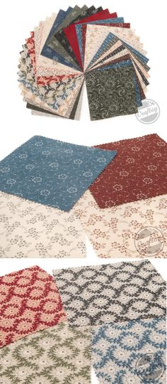The Heritage Prints collection from Benartex is a wonderfully traditional combination of picotage vines, small paisleys and delicate florals. Click: http://www.craftsy.com/ext/20121025_FabricPin3