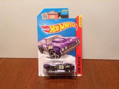 Hot Wheels '69 Chevelle #140 of 250 X-Raycers 2015 Purple 1969 Chevrolet…