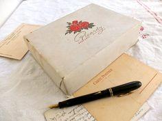 Vintage note paper set / 1960s stationery / by ParisRomaNYflea