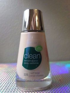 CoverGirl Clean Sensitive Skin Makeup # 225 Buff Beige Liquid Foundation NEW #CoverGirl