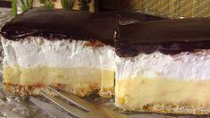 Ez a legporhanyósabb, legomlósabb linzer titka! Cheesecake, Dessert Recipes, Food And Drink, Sweets, Cooking, Cakes, Kitchen, Gummi Candy, Cake Makers