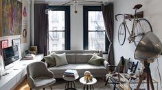 Exclusive: Tour Instagram Star Patrick Janelle's Chic 500-Square-Foot Rental in New York City