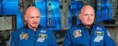 Ein Zwillingspärchen, zwei #Astronauten. Ab sofort frisch in unserem Blog: Die #Zwillingsmission an Bord der #ISS!  http://www.issonduty.com/#post36