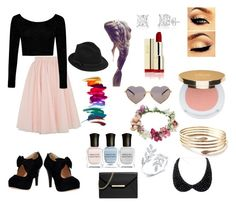"""My Night Out"" by keeksdosramos on Polyvore featuring Ted Baker, Boohoo, Isaac Mizrahi, Deborah Lippmann, Wildfox, Topshop, RED Valentino and MICHAEL Michael Kors"