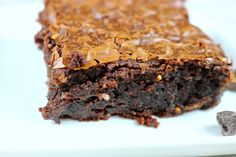 This simple doctored up box mix brownie recipe is the best brownie recipe ever! They will keep everyone coming back for more ~ www.mangiamichelle.com