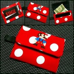 mario themed Sandi ID wallet