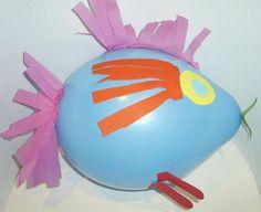 Etapa Preesquematica : 4 - 7 años . Pájaro de globo .