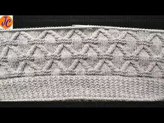 Knitting Beautiful Design Pattern : Part - 1 : (हिंदी) Jasbir Creations. Lace Knitting Patterns, Knitting Designs, Knitting Videos, Knitting For Beginners, Bell Button, Chanel Boy Bag, Crochet Baby, Pattern Design, Shoulder Bag