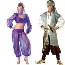 Beautiful Theme Party Games   Group Games For Arabian Nights Theme