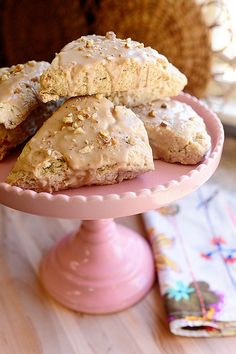 Maple Oat Nut Scones http://thepioneerwoman.com/cooking/2014/03/maple-oat-nut-scones/