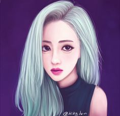 Wengie by Hiba-tan on DeviantArt Tumblr Gril, Hiba Tan, Wengie Hair, Sarra Art, Girly, Painting Of Girl, Love Illustration, Digital Art Girl, Human Art