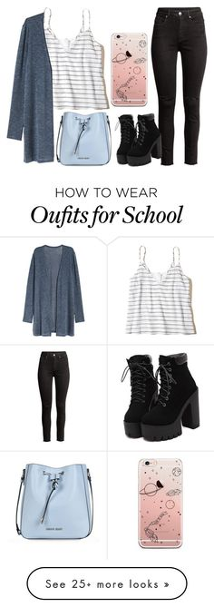 """Old School"" by against-the-tides on Polyvore featuring Hollister Co. and Armani Jeans"