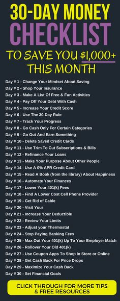 The Save $1,000 This Month MONEY CHALLENGE: 30 Days, 30 Different Actions. money saving challenge 30 day monthly | ways to save money frugal living | save money fast challenges | challenge 30 day money #money #moneymanagement #frugalliving