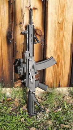 brassbuck:  rifleweeb:  dykatran:  Gewehr Werks 5.45x39 Rifle    docs-office